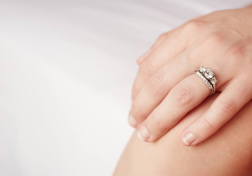 Con gái đeo nhẫn cưới tay nào, ngón nào cho đúng hình ảnh 2