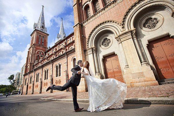 Gợi ý những địa điểm chụp hình cưới đẹp ở TPHCM