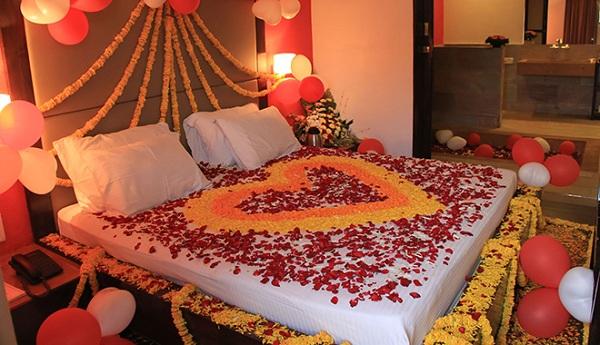 Bí quyết trang trí phòng cưới đẹp lãng mạn