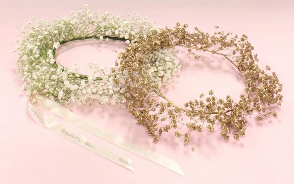 Hướng dẫn cách làm vòng hoa baby đội đầu thật xinh xắn
