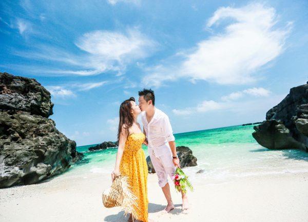 Kinh nghiệm chụp ảnh cưới trên biển đẹp độc lạ