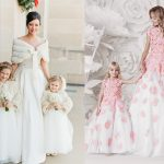 """Cách chọn váy phù dâu cho bé gái vào mùa Đông """"chuẩn không cần chỉnh"""""""