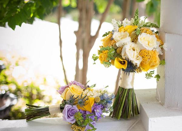 Gợi ý hoa cưới cho cung Song Tử
