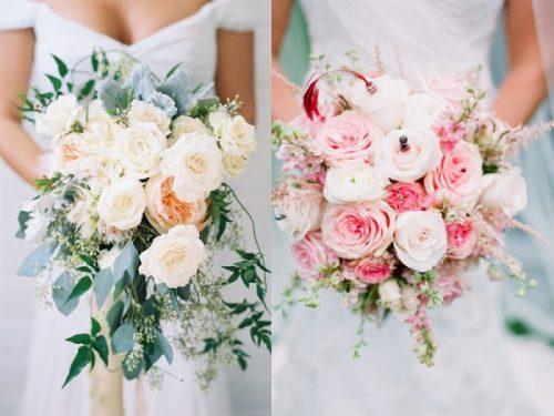 Hoa cưới cho hôn lễ tháng 1