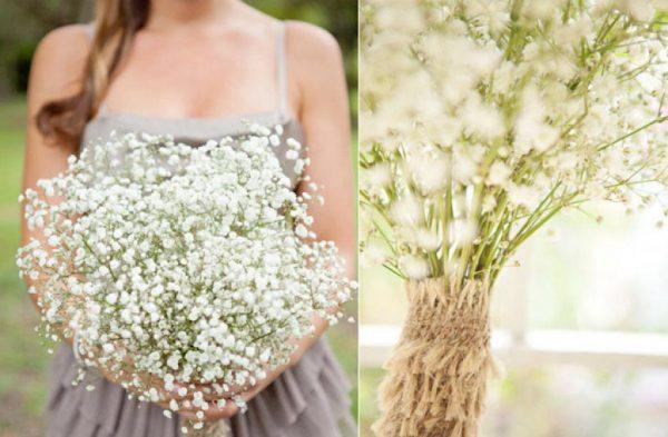 Hoa cưới cho hôn lễ tháng 10