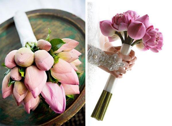 Hoa cưới cho hôn lễ tháng 11