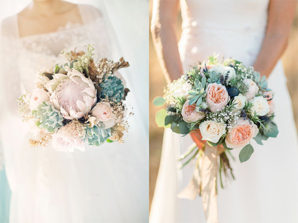 Hoa cưới cho hôn lễ tháng 12