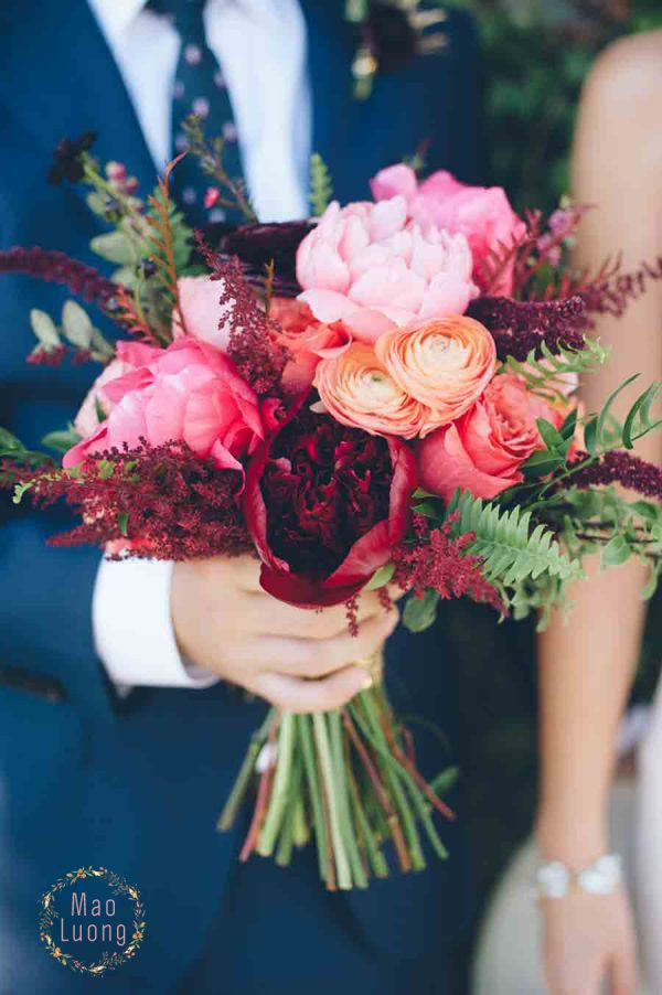Hoa cưới cho hôn lễ tháng 8
