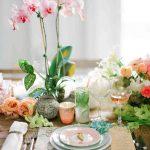 Trang trí tiệc cưới với hoa lan sang trọng