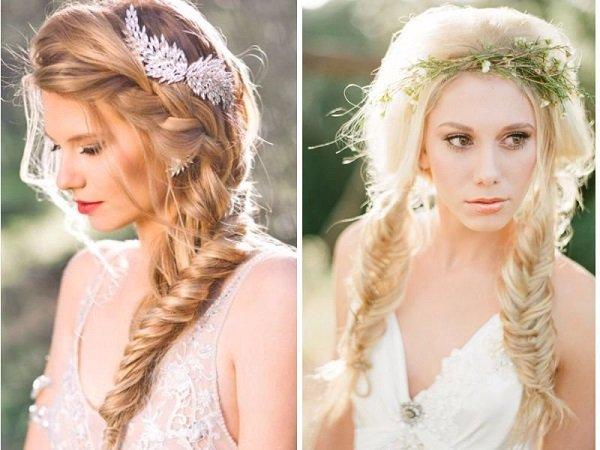 Những kiểu tóc cô dâu đẹp cho đám cưới mùa hè
